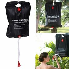 Solar Heated Shower 20 Litre 20L Water Bag Portable Camping Outdoor Hiking