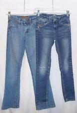 Girls Jeans, SZ 10, Almost Famous or Dollhouse, Embellished, Distressed,Bling