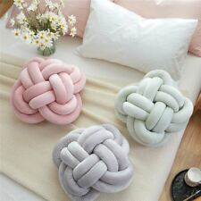 INS Handmade Knot Cushion Knotted Ball Pillow Europe Style Kids Bed Pillows Stuf