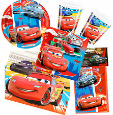 Disney Pixar Cars Lightning McQueen Childrens Birthday Party Tableware Comic Con