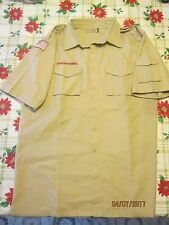 BSA/Cub,Boy Scout Tan Centennial Sht.Slv. Youth/Boys Shirt with left Slv. Pkt-0