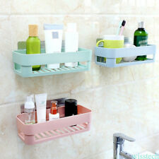 Sticky Wall Storage Rack Organizer Holder Kitchen Tool Storage Bathroom Organize