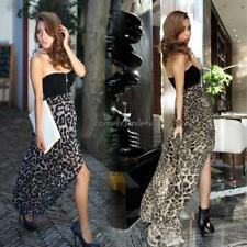 New Women Sexy Chiffon Bustier Party Maxi Cocktail Evening Club Dress CLSV