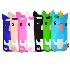 1Pcs Crown Pig Cute Phone Bag Silicone Shell 4.0 inch iPhone 5/5S/SE Phone Case