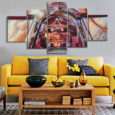 5Pcs Iron Maiden Music Punk Rock Painting Wall Canvas Art Poster Home Decorative