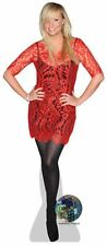 Emma Bunton (Red Dress) Cardboard Cutout (lifesize/mini size) Standee Stand Up