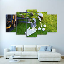 GOLF Sports Wall Art Abstract Modern Painting Canvas Prints Poster Home Decor
