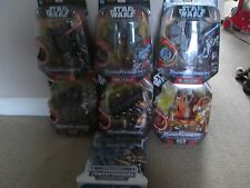 Transformers - Star Wars Cross over figures - Sold seperately
