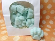 Paw Print Soy Wax Melts Scented Tarts Wickless Candle Cat Pet Wax Warmers
