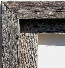REAL BARN WOOD Picture Frame, Handmade In VT, Reclaimed/Salvaged Weatherboard