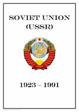 SOVIET UNION USSR RUSSIA 1923-1991 PDF (DIGITAL)  STAMP ALBUM PAGES