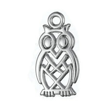 20Pcs Owl Pendant Animal Jewelry Necklace Charms Wholesale Lots Free Shipping