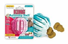 KONG - Puppy Dog Activity Ball Rubber Toy Small Medium Teething Treat Fetch Toy