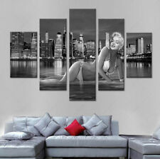 Marilyn Monroe Poster Painting Abstract modern Pictur Canvas Wall Art Home Decor
