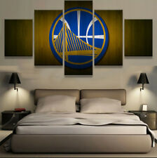 Golden State Warriors Sports Poster Painting Modern Canvas Wall Art Home Decor