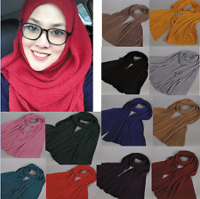 New Women Chiffon Long Scarf Muslim Hijab Arab Wrap Shawl Headwear Underscarf