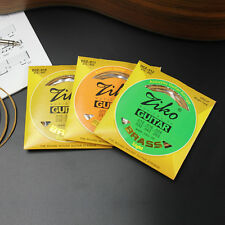 High Quality Ziko Brass Acoustic Guitar Strings 4 X Gauges Available UK Shipping