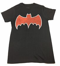 "Batman ""Old School Logo"" T-shirt Official Adult Mens Black New S,M,L,XL"