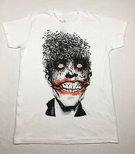 "Batman ""Fly The Joker"" T-shirt Official Adult Mens White New S,XL"