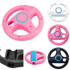 US 2PCS Racing Steering Wheel for Nintendo Wii Mario Kart Remote Game Controller