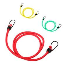 8mm 1.2 Meters Elastic Bungee Shock Cord/Rope W/ Plastic Coated Metal Hook Ends