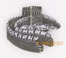"3D Fridge Magnet ""The Great Wall"" China Travel Souvenir Brand New 55*65mm"