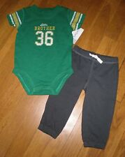 Carters NWT Two Piece Outfit Little Brother 18 Months FREE SHIPPING