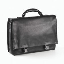 Clava Tuscan Leather Flap Briefcase