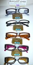 MAGNIVISION ELEGANT EYES FOSTER READING GLASSES Assorted Styles +1.25 to 3.25
