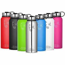 SWIG SAVVY 32.oz  Stainless Steel Insulated Short Water Bottle with Wide Mouth