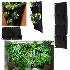 Assorted Pockets Wall Hanging Planter Grow Bag Pouch Tomato Herb Flower Pot