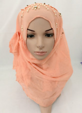 Islamic Women Hijab Chiffon Muslim Shawl Long Scarf Headscarf Scarves Wrap Hat