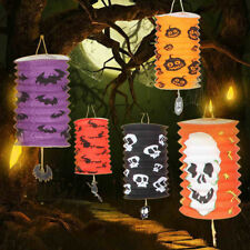 Halloween Scary Folding Paper Lantern Halloween Party Yard Hanging Decoration