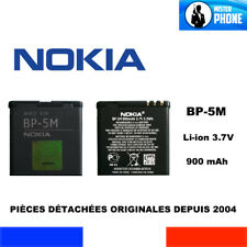 BATTERIE OFFICIELLE NOKIA BP-5M OEM 900mAh 3,3Wh 3,7V ORIGINAL GENUINE BATTERY