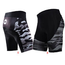 4D Gel Padded Cycling Shorts Men's Bike Clothing Spandex Tights Bicycle Wear New