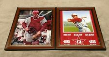 Cincinnati Reds Johnny Bench Pete Rose Joe Morgan 8x10 Framed Photo