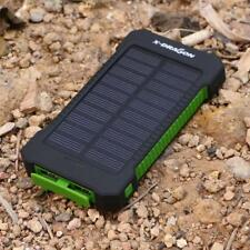 10000 mAh Solar Charger Portable Power Bank Outdoors Emergency External NEW