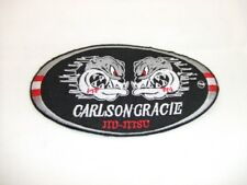 CARLSON GRACIE JIU JITSU OVAL LARGE PATCH BJJ MMA NHB VALE TUDO FIGHT  JIU JITSU