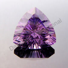 NATURAL AMETHYST CONCAVE CUT TRILLION SHAPE 6 MM TO 9 MM SIZE LOOSE GEMSTONE