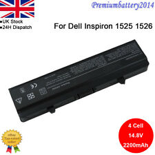 4/6/9Cell Battery for Dell Inspiron 1525 1526 1545 1546 GW240 X284G PP29L PP41L