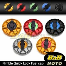 For Triumph Daytona 955i 98-06 00 01 02 03 NIMBLE 1/4 Quick Lock Gas Fuel Cap