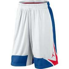 NWT Mens Jordan Phase 23 Basketball Shorts White Red Blue XLARGE XL