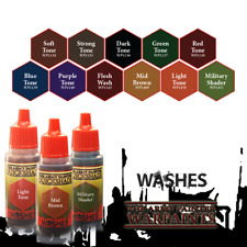 The Army Painter Washes Warpaints Quickshade Paint Ink: 18mL Eyedropper Bottle