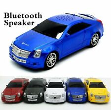 Bluetooth Mini Car Shape Stereo FM Radio TF MP3 Mp4 Card Music Player Speaker