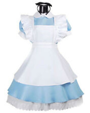 Womens Alice in Wonderland Alice Costume Alice Fairytale Fancy Dress Costume