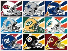 Full 32 NFL Football Team Helmet Flags Banner Poster 3x5 ft Flag High Quality