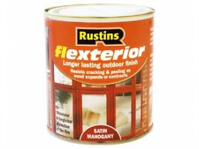 Rustins Flexterior Varnish Range