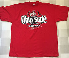 Ohio State Buckeyes Red T Shirt Mens size L, XL, XXL, 2XL Short and long sleeve