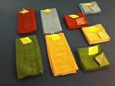 kitchen towels: dishcloths and kitchen towels: in red, blue, beige or green, New
