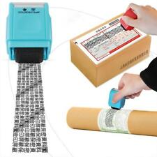 Office Plus Guard ID Roller Stamp Self Inking Stamp Messy Code Security Gift YU